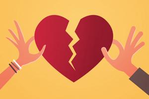 مراحل هیجانی طلاق